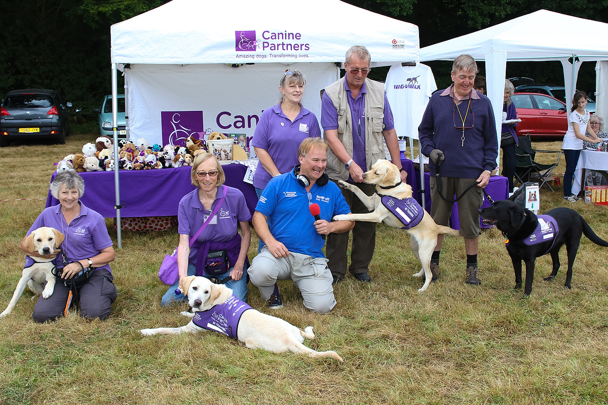 Neil Munday and Canine Partners