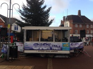 SUSY Christmas Roadshow in Horley