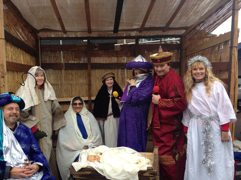The Nativity featuring the SUSY crew