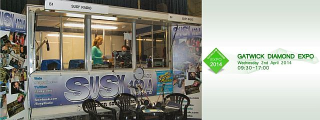 SUSY Radio at the Gatwick Diamond Expo