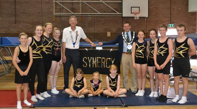 Mayor Attends Synergy Sports Academy