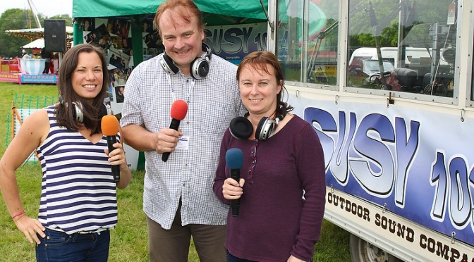 SUSY Radio presenters at the Heavy Horse show