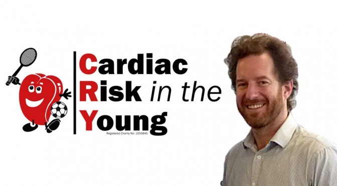 photo Dr Steve Cox of Cardiac Risk in the Young