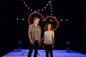 Dirty Great Love Story, Arts Theatre - Felix Scott and Ayesha Antoine, Courtesy of Richard Davenport for The Other Richard_4