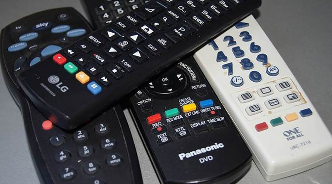 tv remote control image