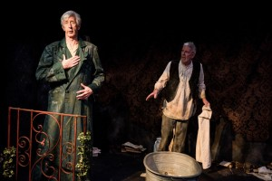 Beau Brummell - An Elegant Madness, Jermyn Street Theatre - Sean Brosnan and Richard Latham, courtesy of Savannah Photographic