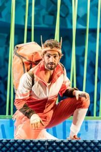 Fantastic Mr Fox at Nuffield Southampton Theatres. Greg Barnett (Mr Fox). Photo credit Manuel Harlan