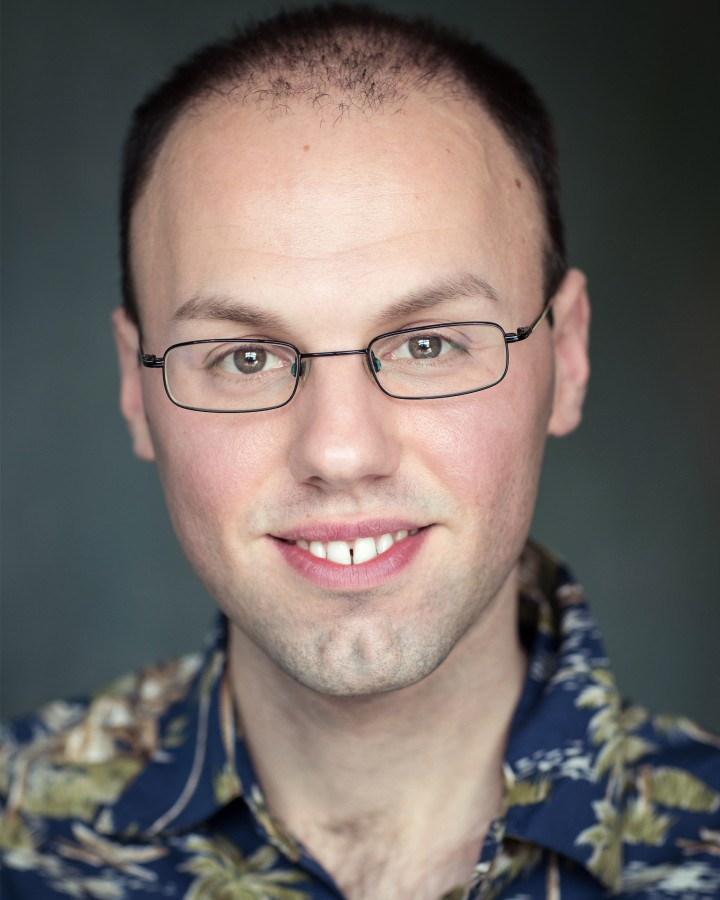 Joseph Booton actor headshot