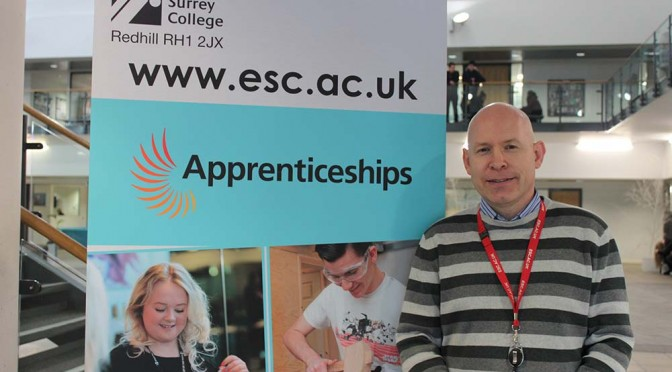 National Apprenticeship Week – Annie talks to Richard Brooks from ESC