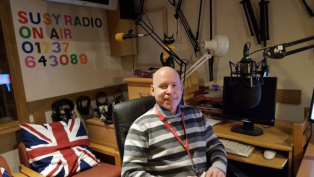 Richard Brooks at East Surrey College