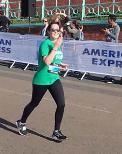 Daisy Hopson running the Brighton 10k