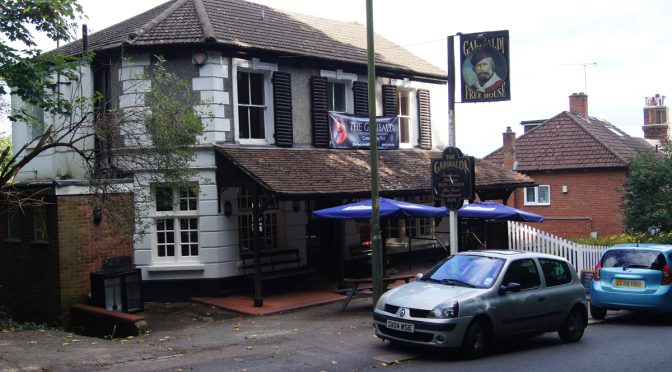 Garibaldi Pub exterior - Redhill