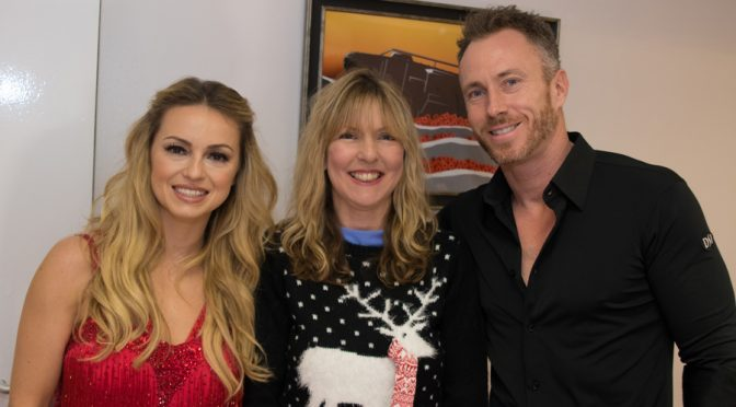 Ola, Chrissy Muir and James Jordan