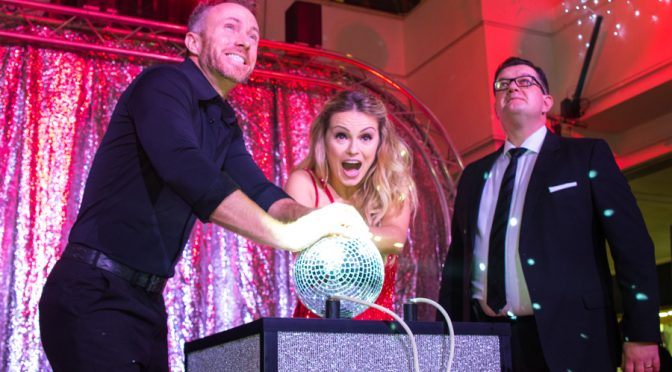 It's Strictly Christmas as the lights go on at the Belfry