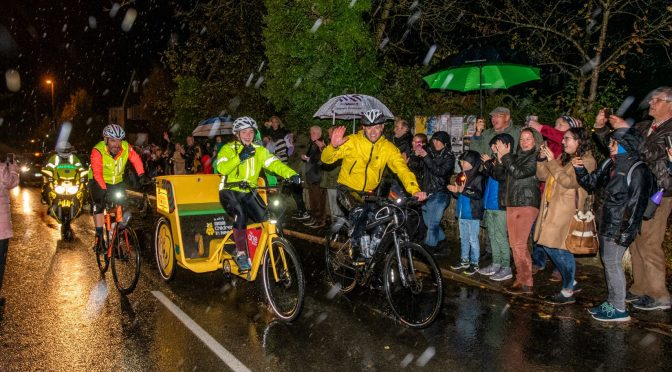 The One Show's Rickshaw Challenge In Lingfield