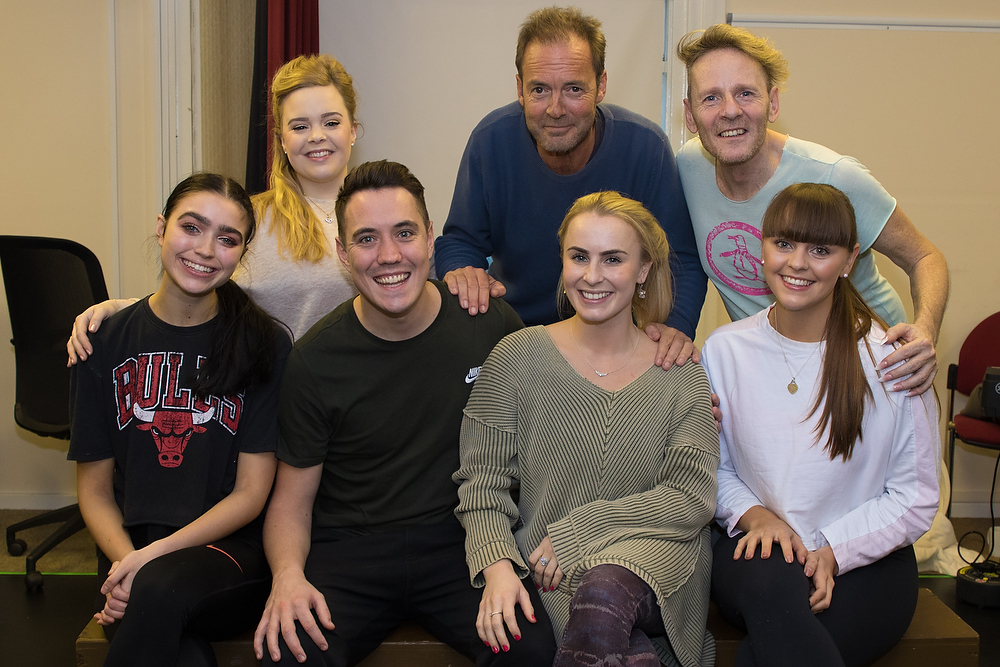 Dorking panto cast group photo