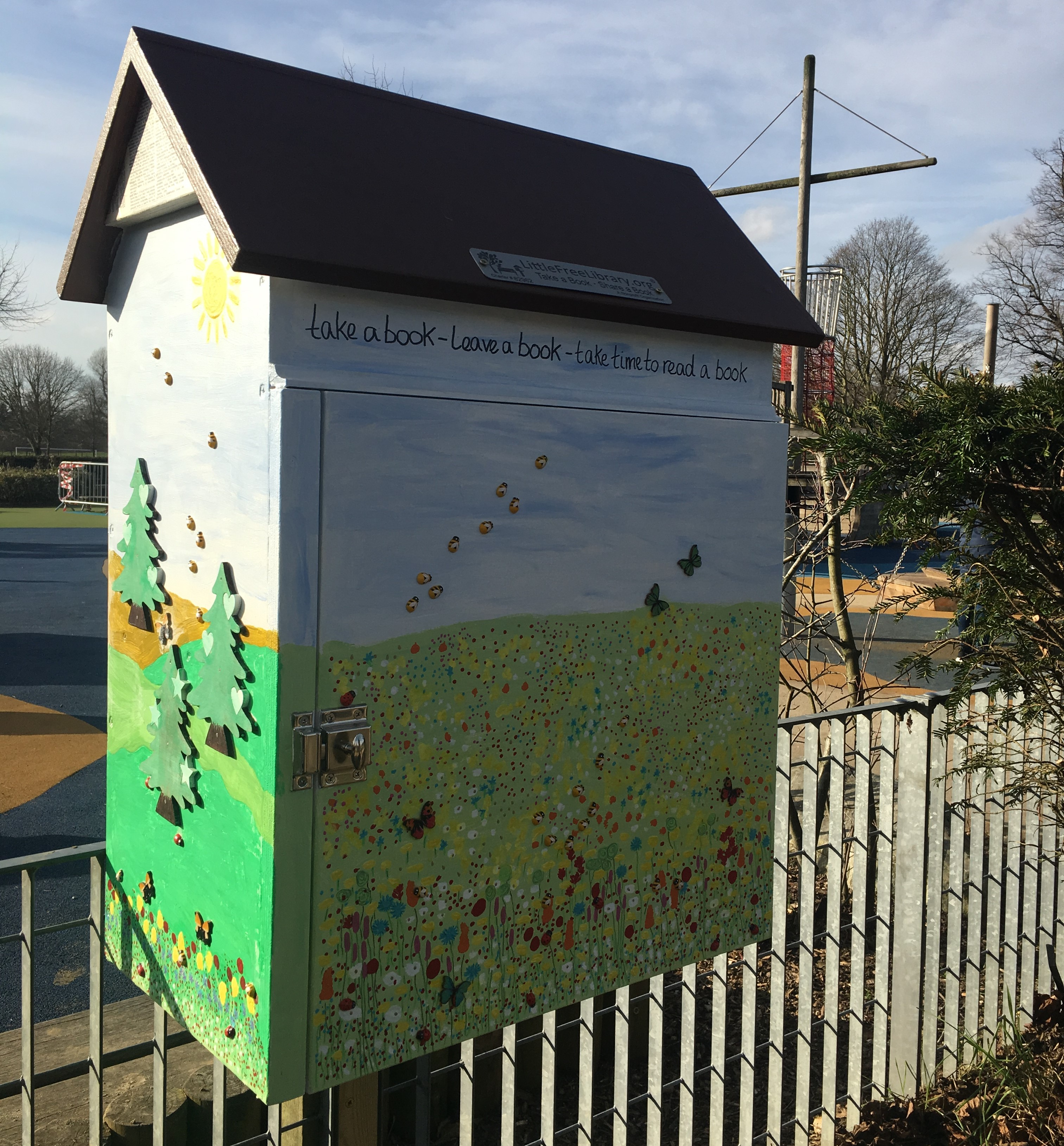 Little Free Libraries Arrive In Reigate And Redhill