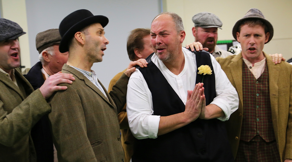 actors rehearsing of My Fair Lady