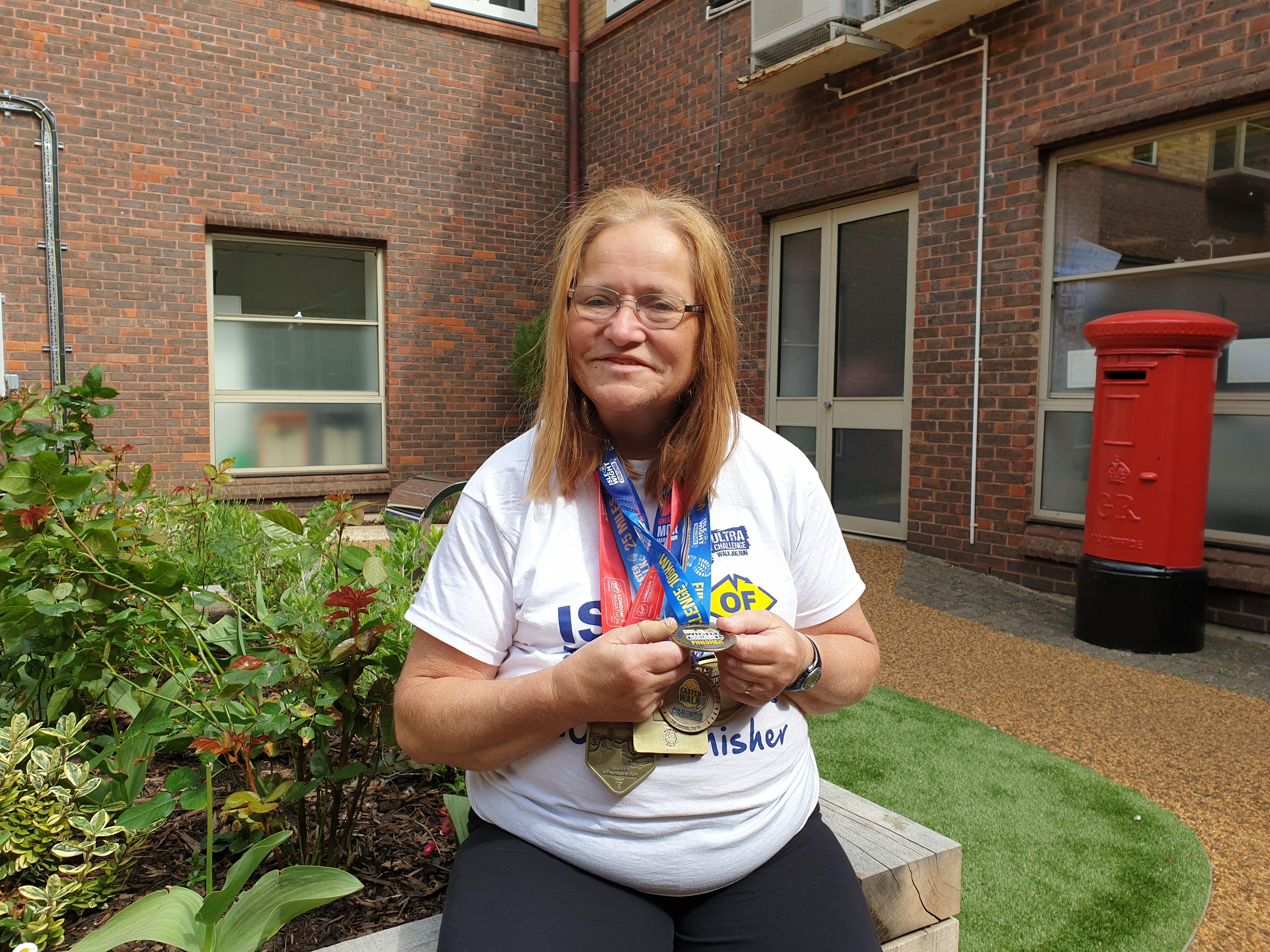 Nursing Assistant Takes On 60th Marathon Ahead Of 60th Birthday