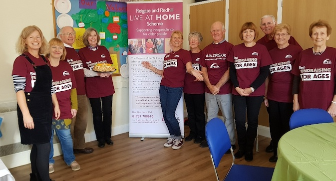Annie Whitmore finds out about a new dementia club in Merstham