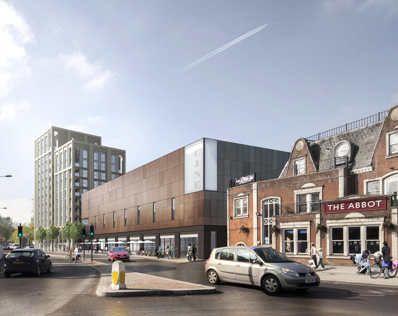 Redhill's Marketfield Way Development Gets Underway