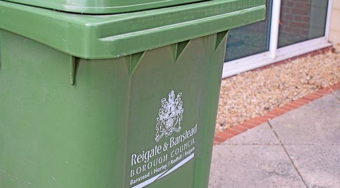 Bin collections during the coronavirus outbreak