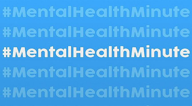 SUSY Radio joins in with #MentalHealthMinute