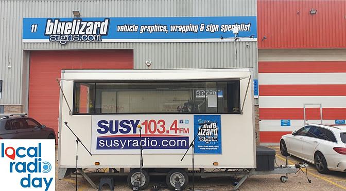 Susy Radio celebrates 'Local Radio Day'