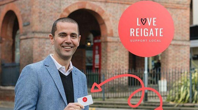 Julian Rowlands – 'Love Reigate'