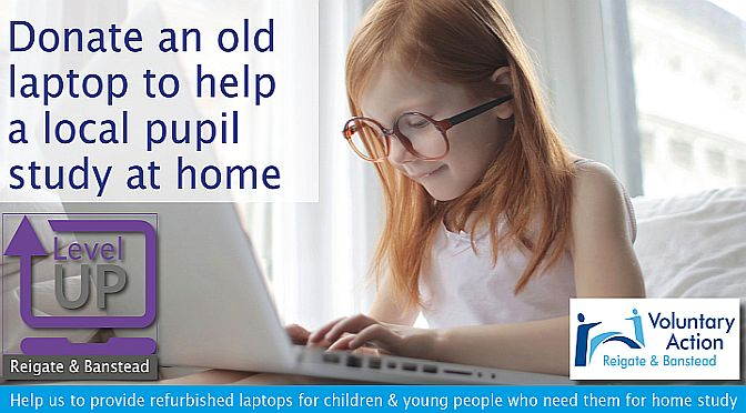 Help local young people with home studies by donating unused laptops