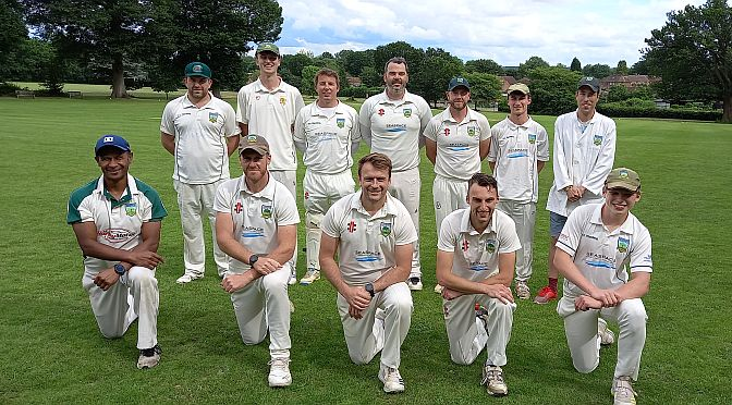 Cricket: Chaldon CMO frustrate Newdigate's push for victory