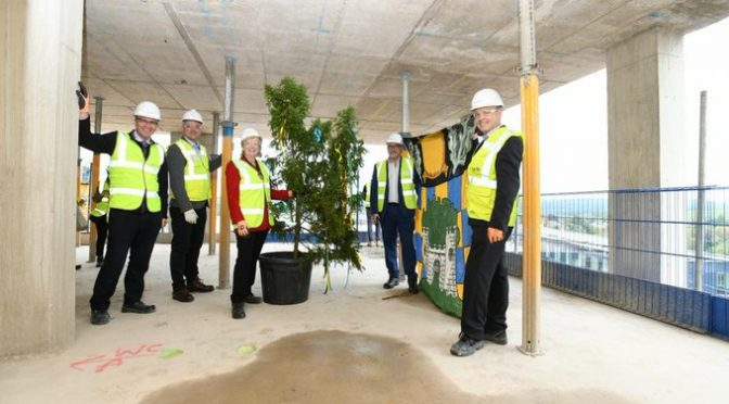 Council's Redhill Development Reaches Its Highest Point